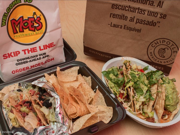 Chipotle or Moes? The Age Old Question