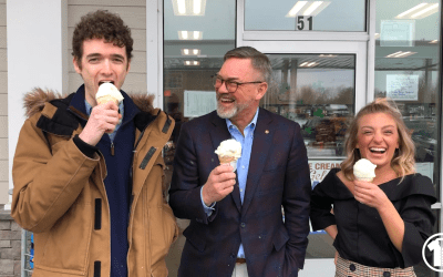 President's Day Ice Cream Review With Stewart's/Our President Gary Dake