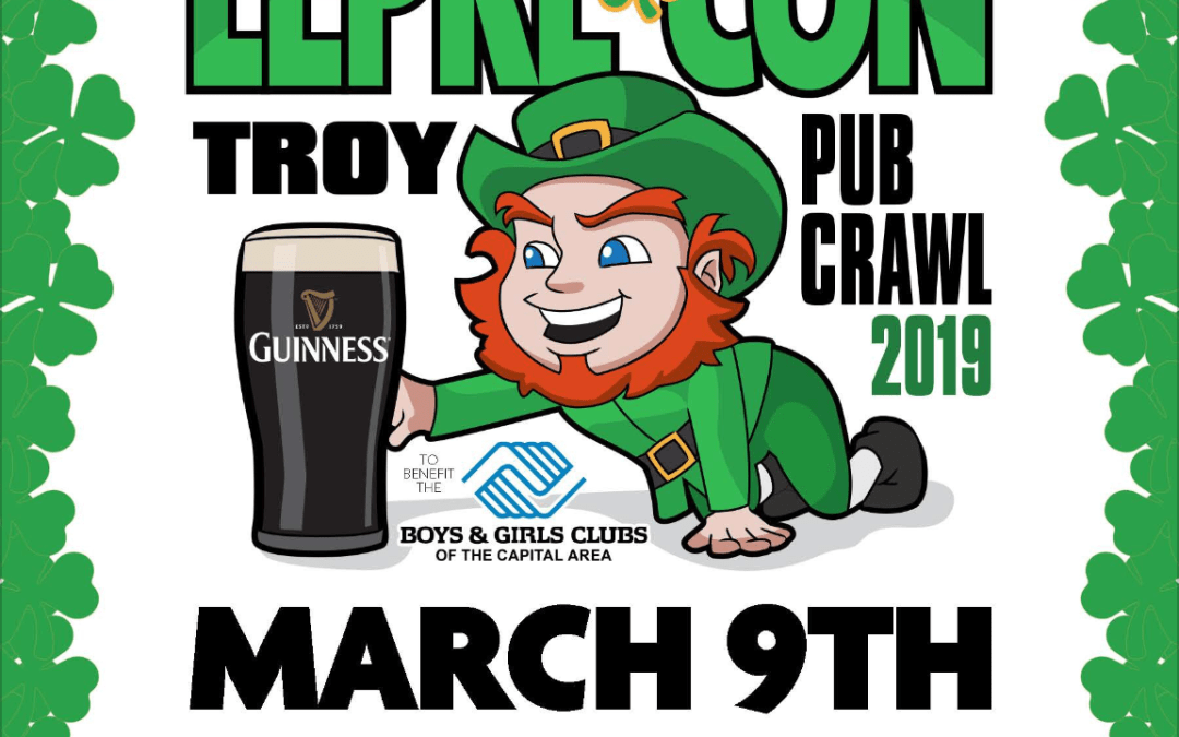 It's A Perfect Day For A Pub Crawl In Troy, NY