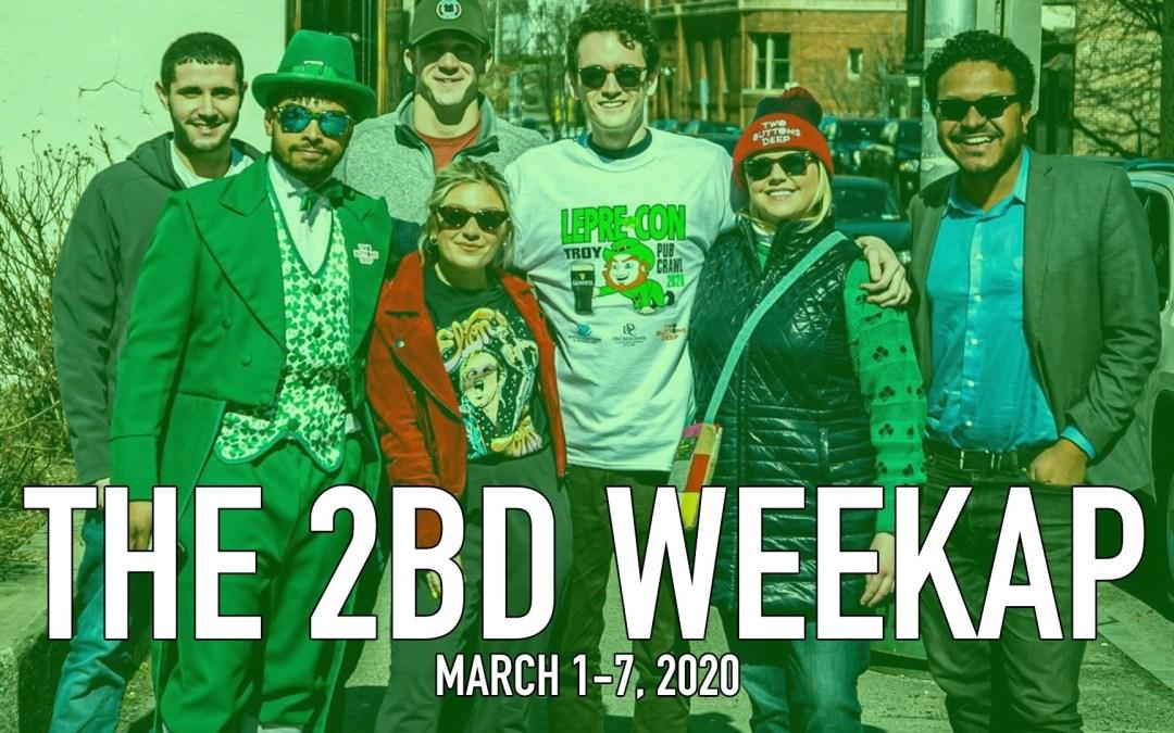 The 2BD Weekap: March 1-7