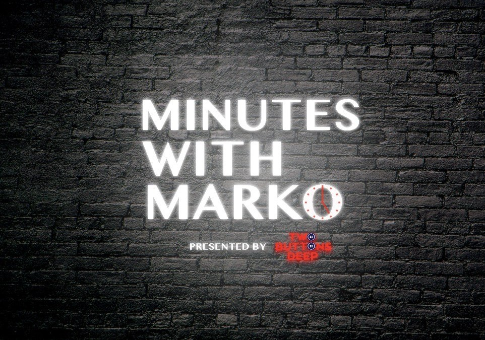 Minutes with Marko: Two Ears and One Mouth