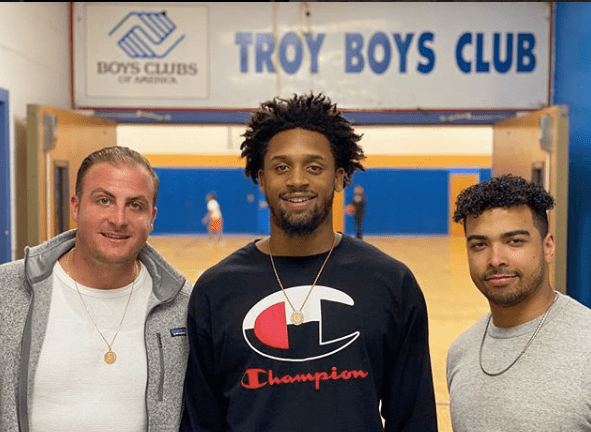 Marko and Jordan Visit the Troy Boys and Girls Club