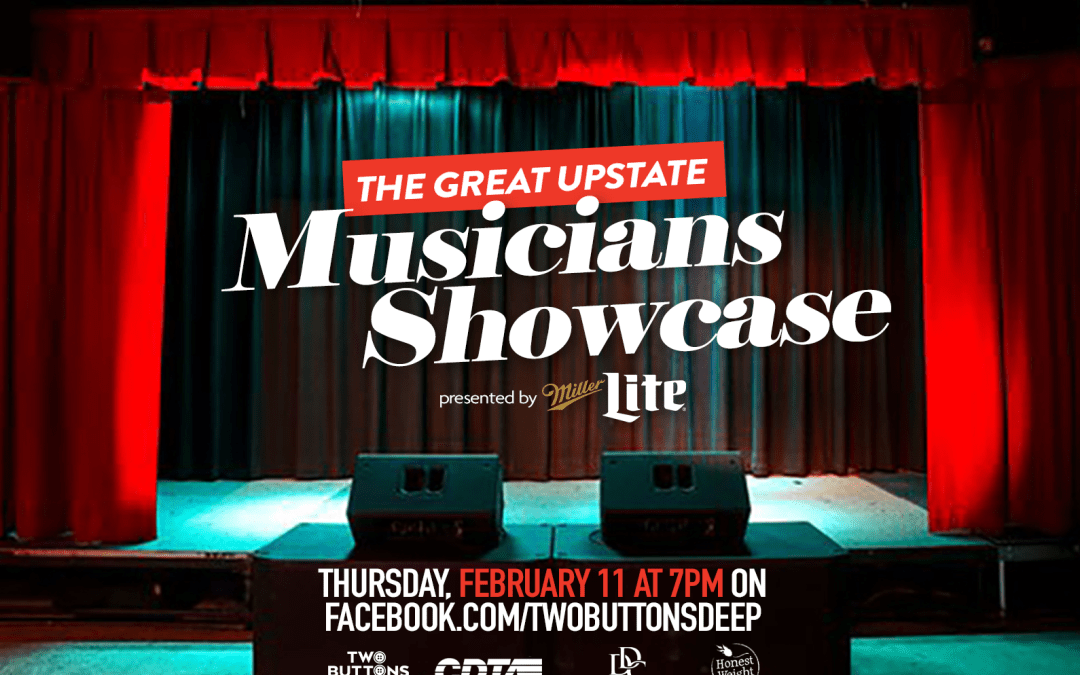 WATCH: The Great Upstate Musicians Showcase