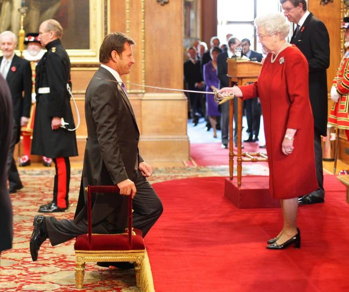 Britain Golf Faldo Knighthood
