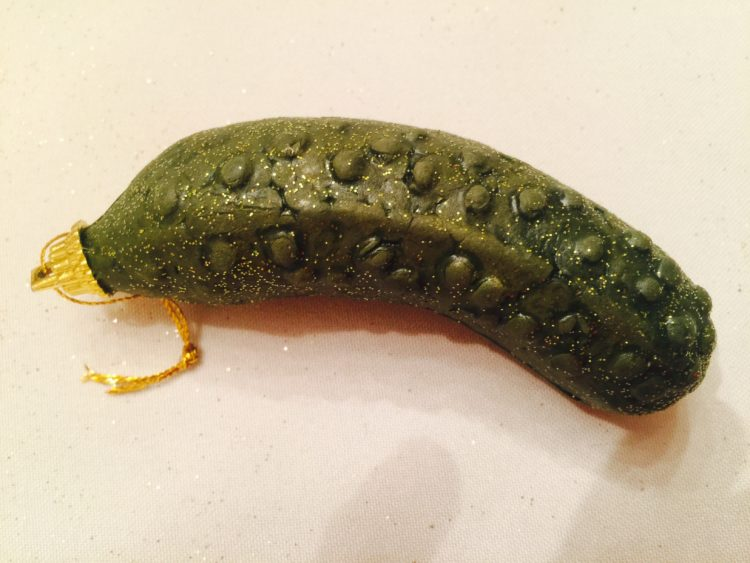 what does christmas have to do with a pickle as weve learned it wouldnt be christmas without one in many homes the story goes that it is an old german - Christmas Pickle Story
