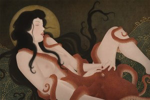 To show an erotic and highly sensual Shunga painting by Swedish artist Senju.