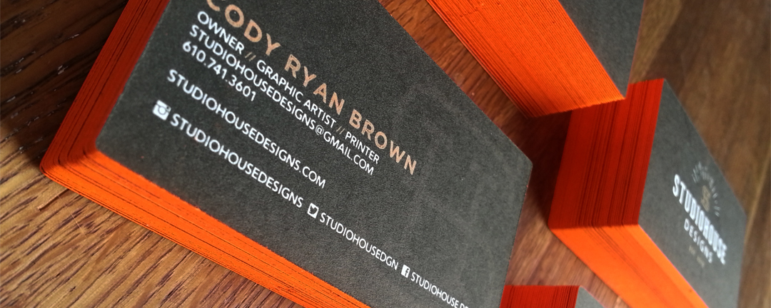 Business card printing two crows printing bar harbor maine this is where we do all the specialty business card printing from basic business cards to die cut business cards with edge painting colourmoves