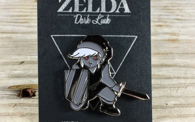Dark Link Enamel Pins!!!