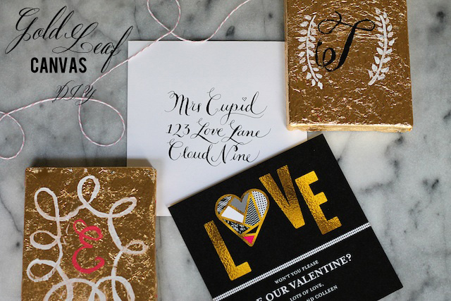 gold leaf canvas diy full 2| Two Delighted_edited-1