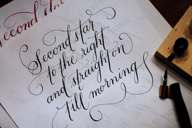 happenings 223 calligraphy | Two Delighted