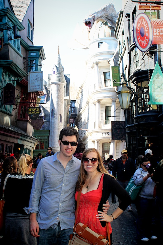 diagon alley meg and chris Two Delighted