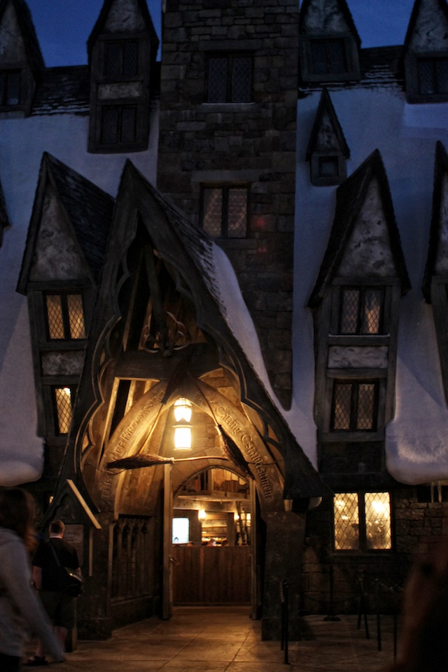three broomsticks night Two Delighted