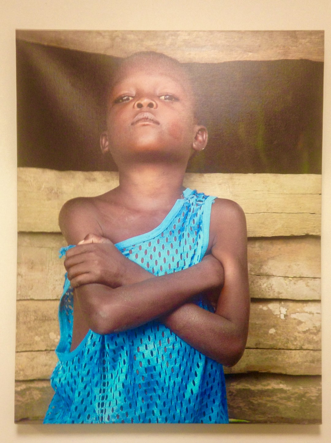 strong African child