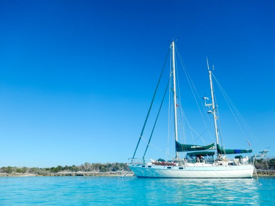 Sailing in the Bahamas with Amarok Sailing Charters