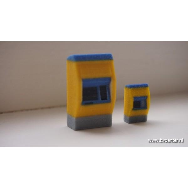 ns-kaartautomaat schaal h0 en N spoor