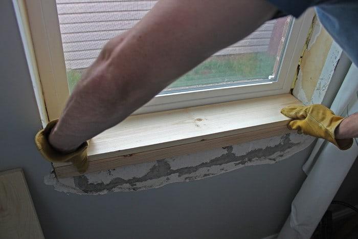 Install Window Sill