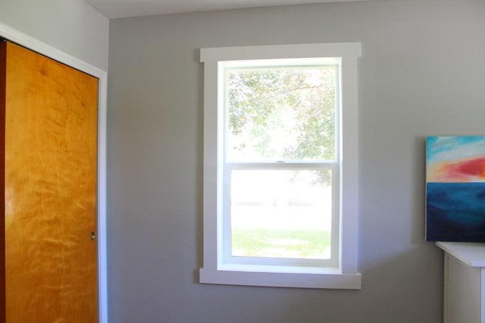 & DIY Window Trim