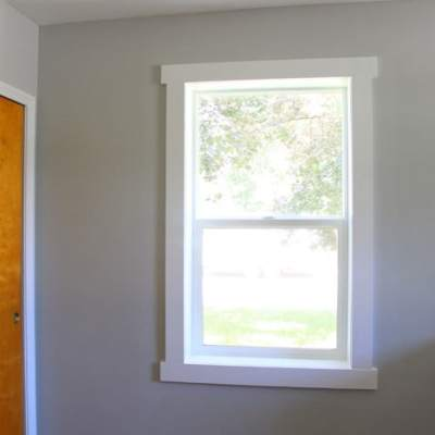 Painting The Window Trim