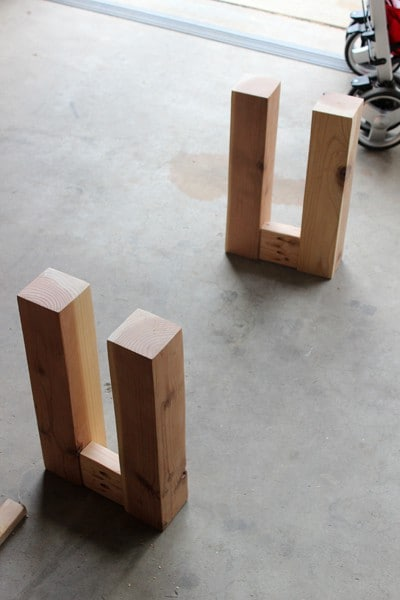 Build a wood bench