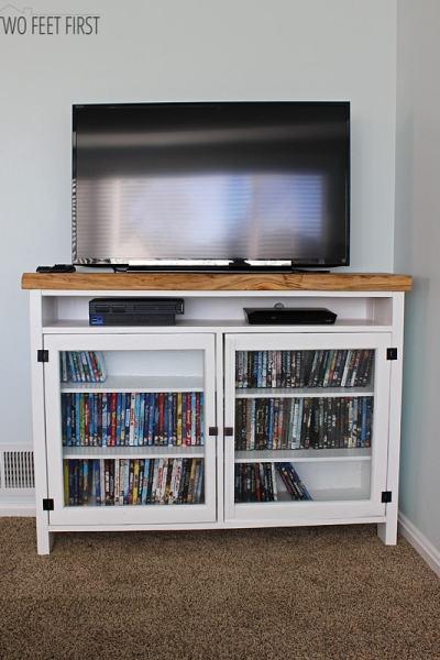 DIY TV Console