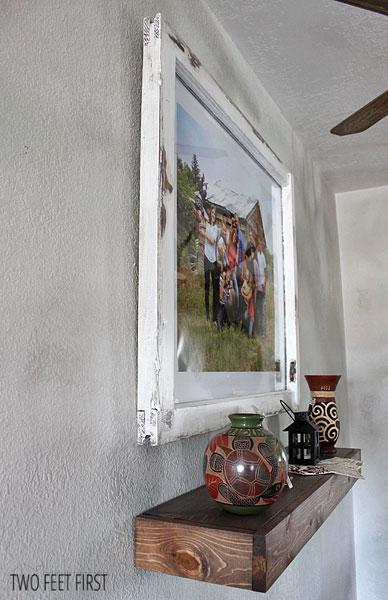 DIY old wooden window