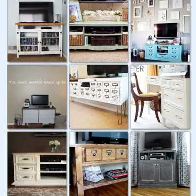 17 DIY TV consoles