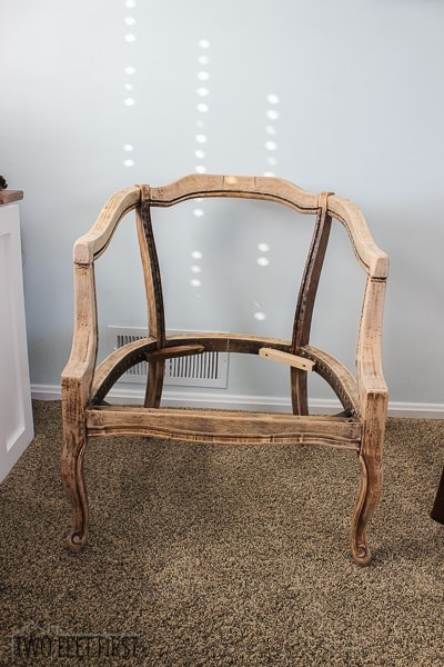 DIY Barrel Chair