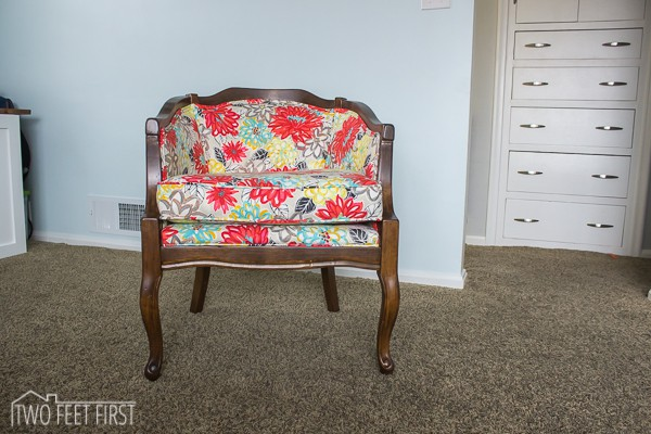 how to transform an upholstered chair