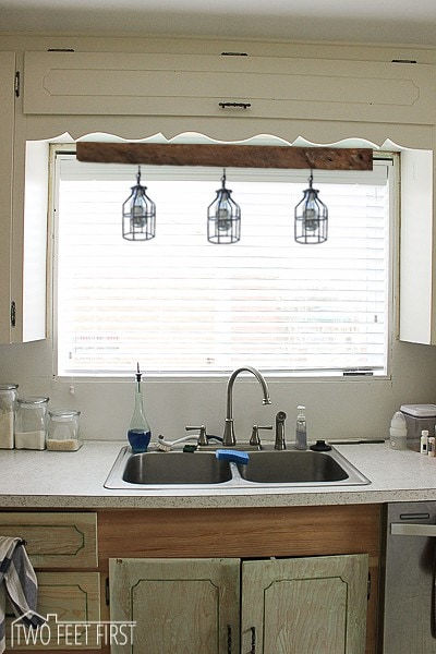 Lighting above kitchen sink inspiration for Over the kitchen sink pendant lights