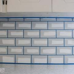 Cost To Have Kitchen Cabinets Painted Facets How Paint A Backsplash Look Like Tile