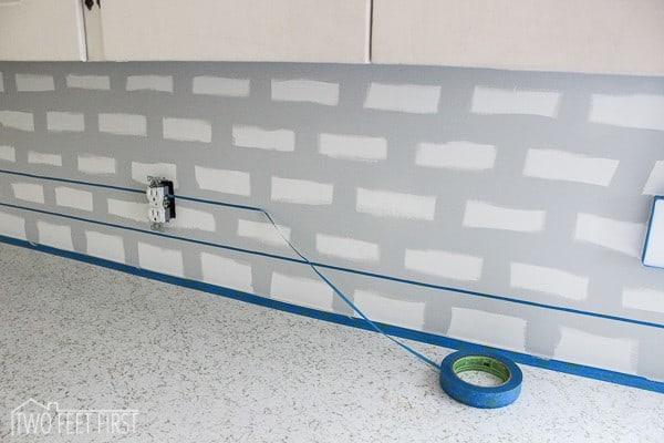 diy subway tile backsplash-8