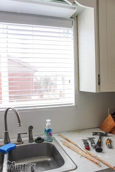 kitchen trim designs adding around window updating 2