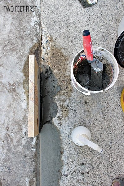 repairconcrete steps
