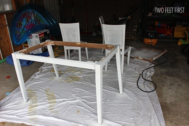 Painting-table-base