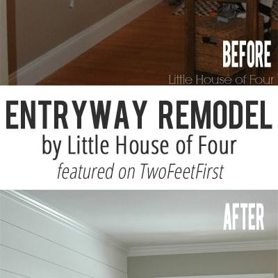 Remodel Love – Entryway By Little House of Four