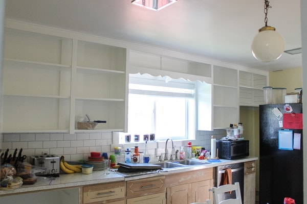 paint kitchen cabinets