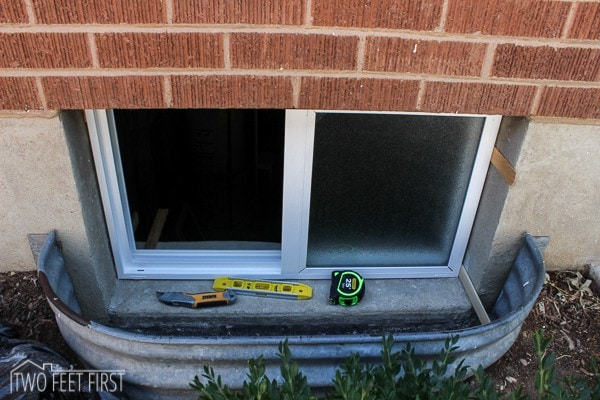 how to replace basement windows install basement window4 that oops basement window replacement
