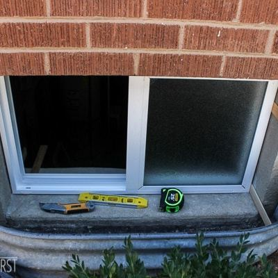 That Oops Basement Window Replacement