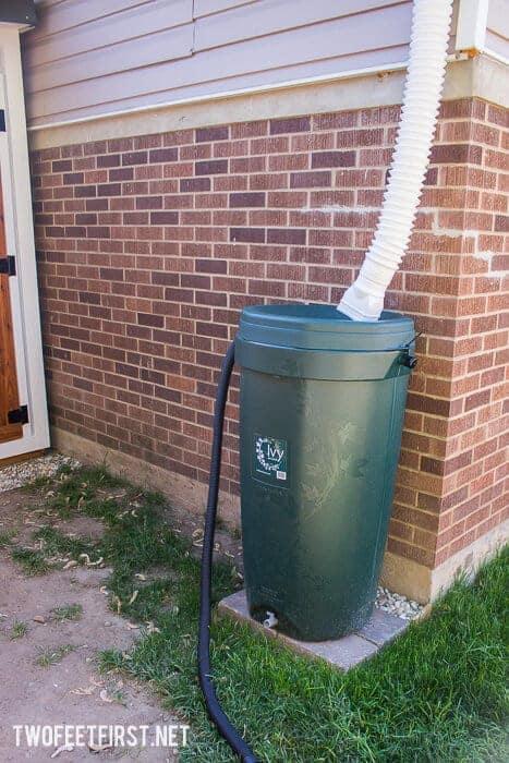 How to install a rain barrel