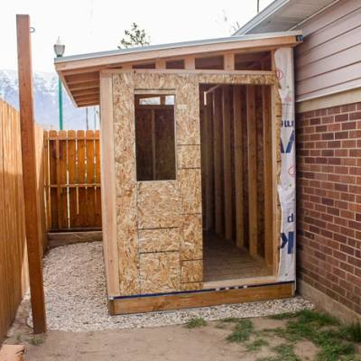 Build a Lean-to Roof for a Shed