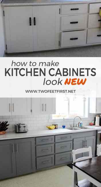 replacing kitchen cabinets on a budget update kitchen cabinets without replacing them by adding trim 25493