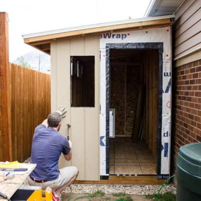 How to Install Siding & Trim on a Shed