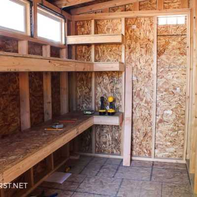 How to build storage shelves - Are you looking for a storage solution in your shed or garage? Well, I have an easy way to build storage shelves for either the garage, shed, or maybe a storage room.