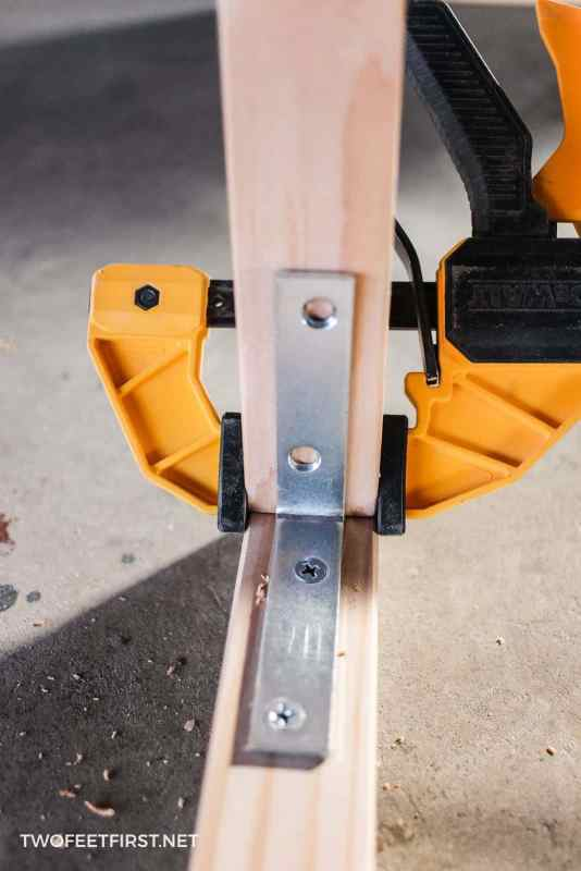 clamping wood for laptop desk