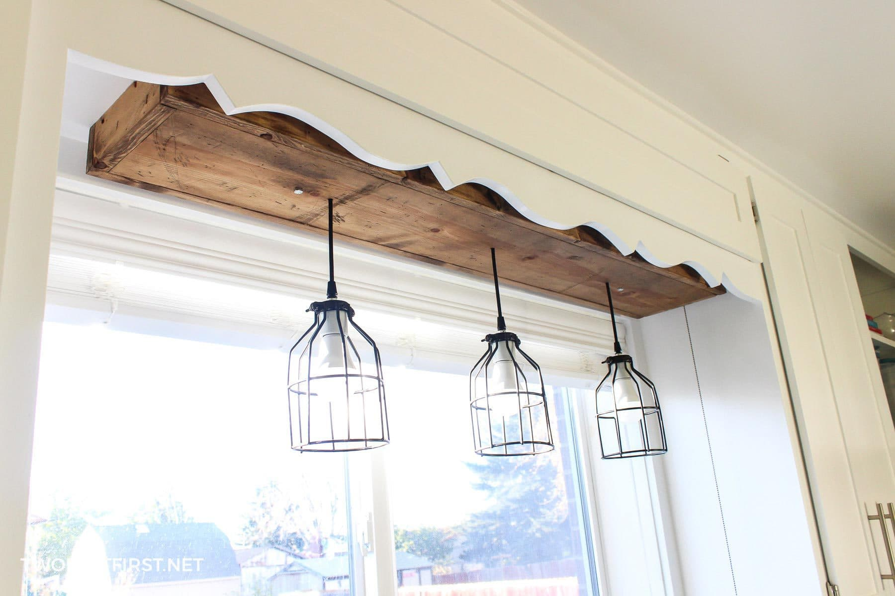 pendant lights above sink & DIY Pendant Light