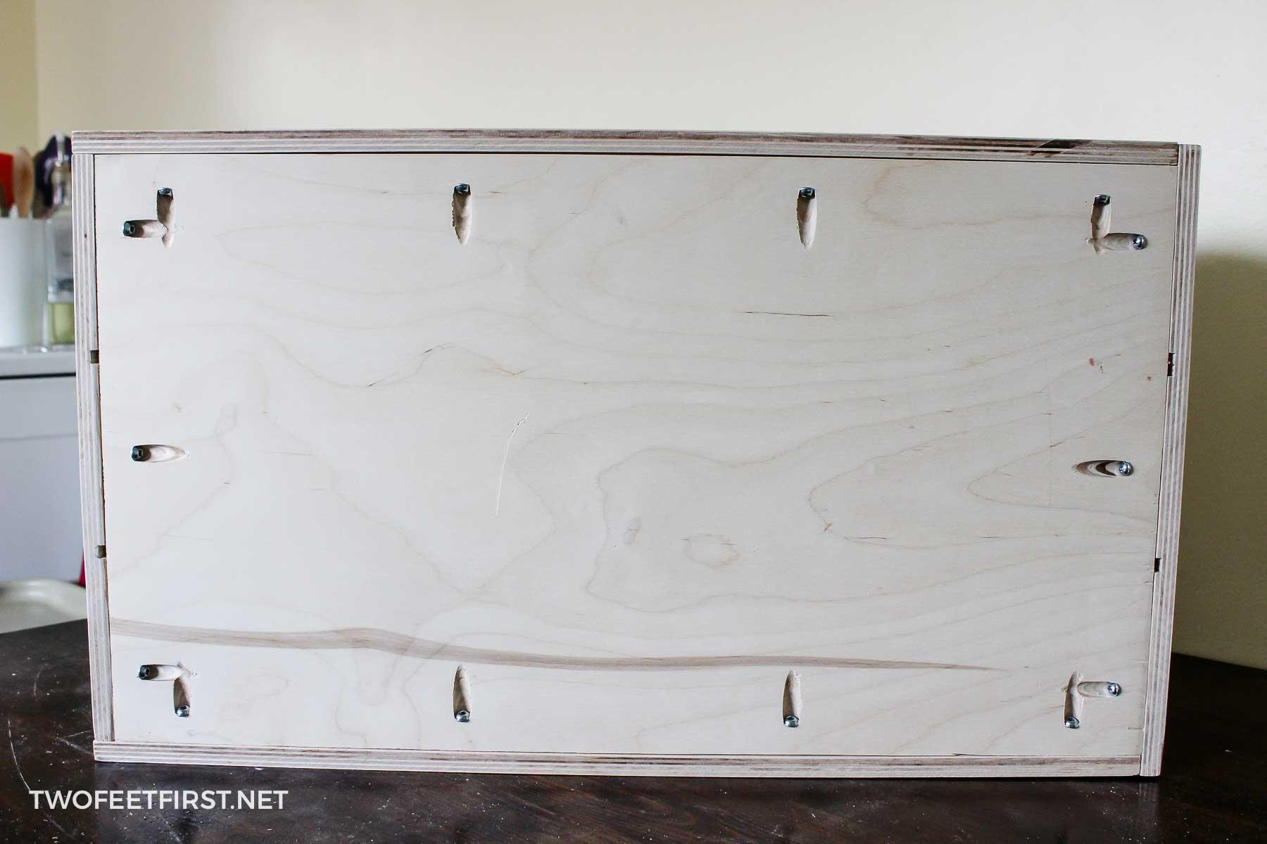 assemble organizer drawer