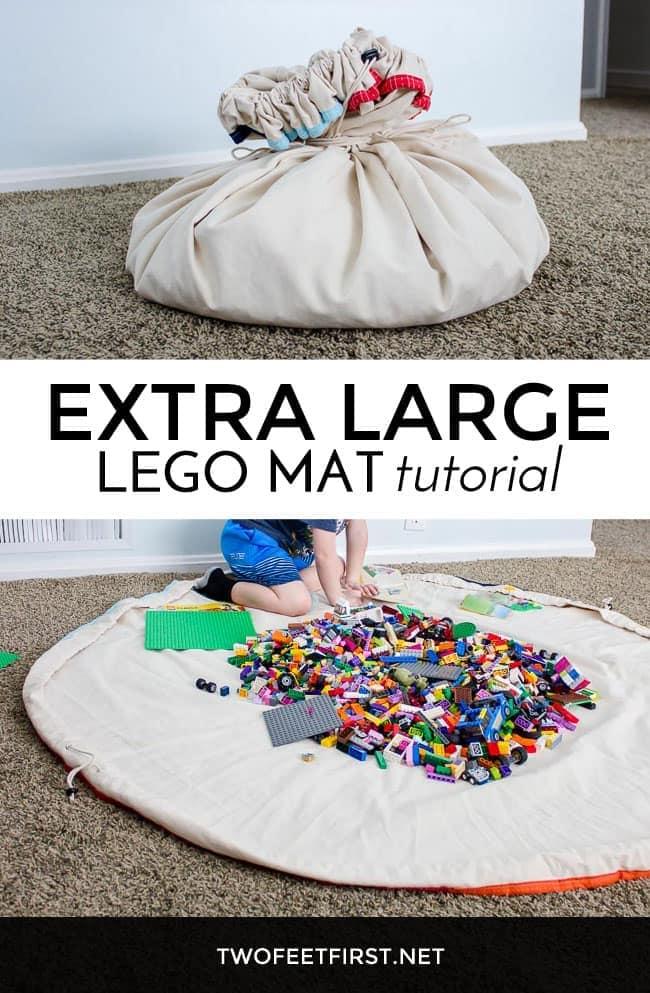 DIY a extra large Lego mat FREE tutorial