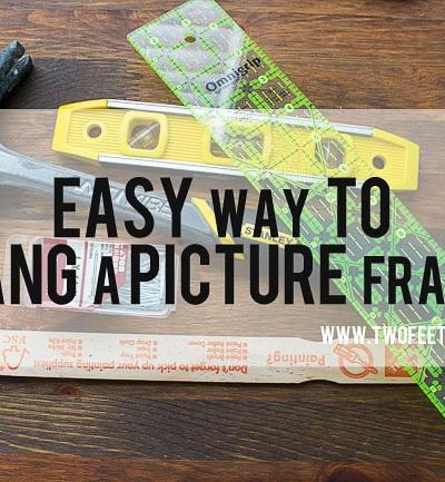 An Easier way to hang a picture frame