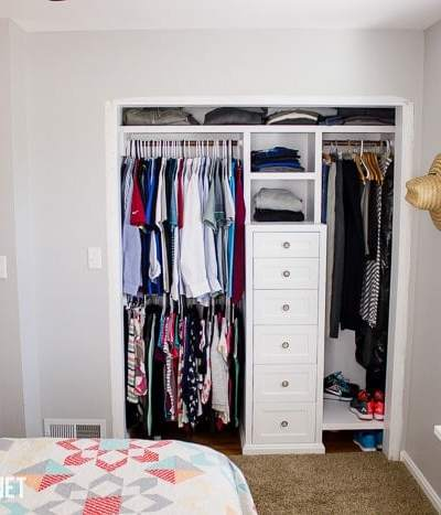 Total Cost of Closet Makeover
