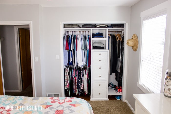 Need more closet space? here is how to build a closet system